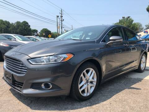 2015 Ford Fusion for sale at Capital Motors in Raleigh NC