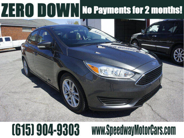 2016 Ford Focus for sale at Speedway Motors in Murfreesboro TN