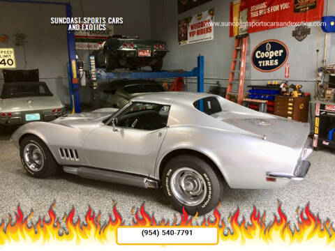 1968 Chevrolet Corvette for sale at Suncoast Sports Cars and Exotics in West Palm Beach FL