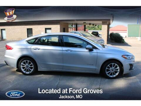 2019 Ford Fusion Hybrid for sale at JACKSON FORD GROVES in Jackson MO