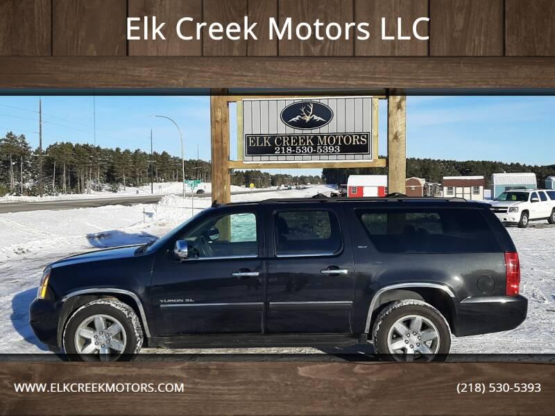 2012 GMC Yukon XL for sale at Elk Creek Motors LLC in Park Rapids MN