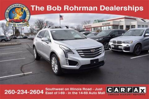 2018 Cadillac XT5 for sale at BOB ROHRMAN FORT WAYNE TOYOTA in Fort Wayne IN