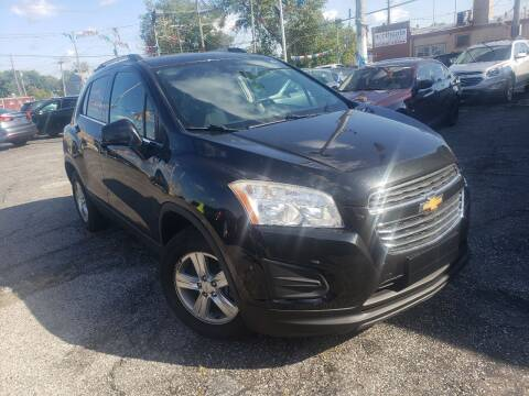 2016 Chevrolet Trax for sale at Some Auto Sales in Hammond IN