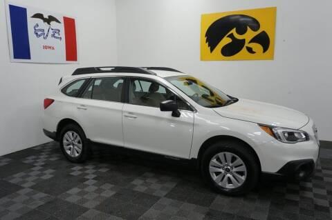2017 Subaru Outback for sale at Carousel Auto Group in Iowa City IA
