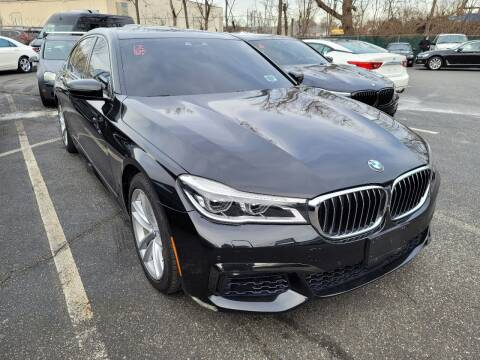 2017 BMW 7 Series for sale at AW Auto & Truck Wholesalers  Inc. in Hasbrouck Heights NJ