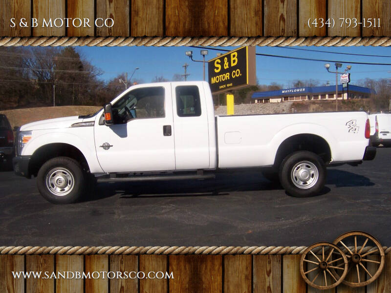 2016 Ford F-250 Super Duty for sale at S & B MOTOR CO in Danville VA