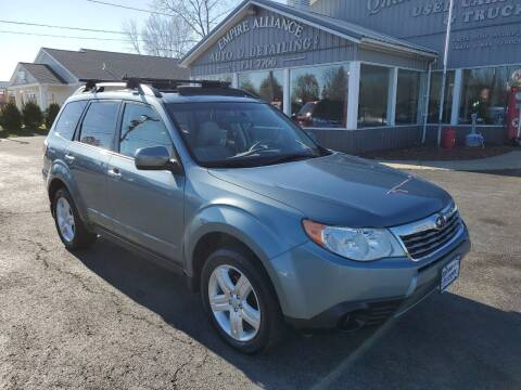 2010 Subaru Forester for sale at Empire Alliance Inc. in West Coxsackie NY