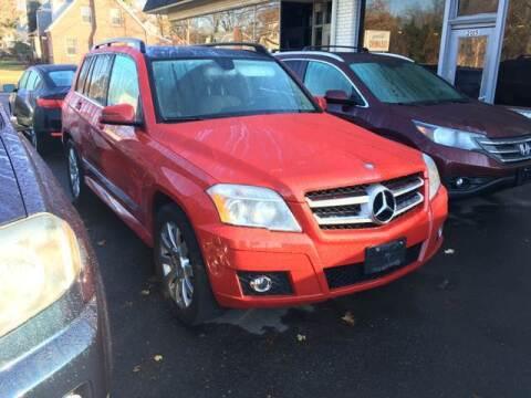 2010 Mercedes-Benz GLK for sale at MELILLO MOTORS INC in North Haven CT