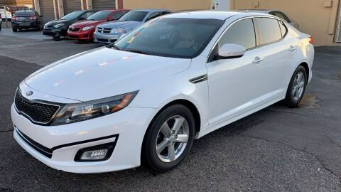 2014 Kia Optima for sale at 911 AUTO SALES LLC in Glendale AZ