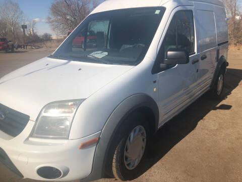 2012 Ford Transit Connect for sale at BARNES AUTO SALES in Mandan ND