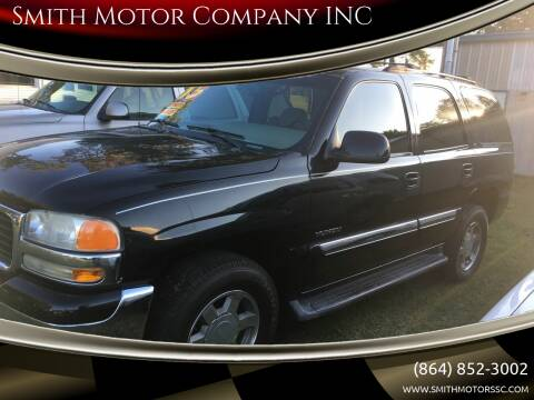 2005 GMC Yukon for sale at Smith Motor Company INC in Mc Cormick SC