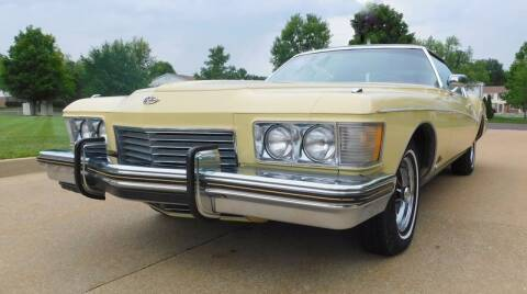 1973 Buick Riviera for sale at WEST PORT AUTO CENTER INC in Fenton MO