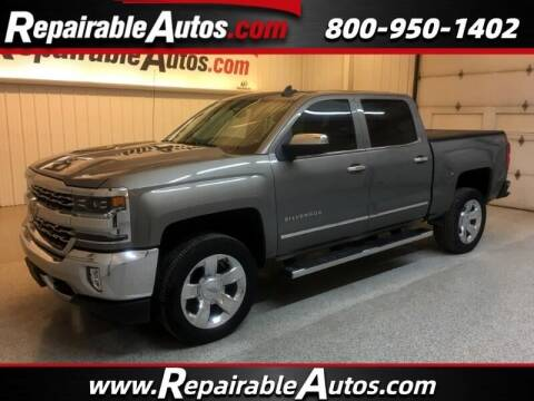 2017 Chevrolet Silverado 1500 for sale at Ken's Auto in Strasburg ND