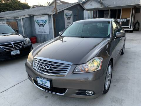 2008 Infiniti M35 for sale at Integrity Motorz, LLC in Tracy CA
