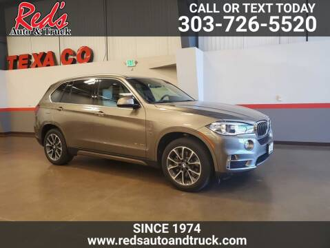 2017 BMW X5 for sale at Red's Auto and Truck in Longmont CO