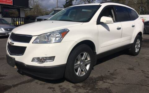 2011 Chevrolet Traverse for sale at Universal Auto INC in Salem OR