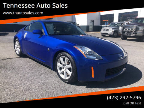 2003 Nissan 350Z for sale at Tennessee Auto Sales in Elizabethton TN