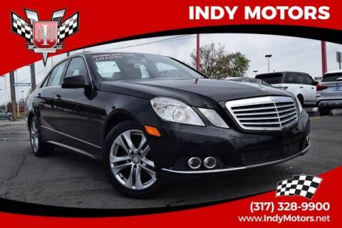 2010 Mercedes-Benz E-Class for sale at Indy Motors Inc in Indianapolis IN