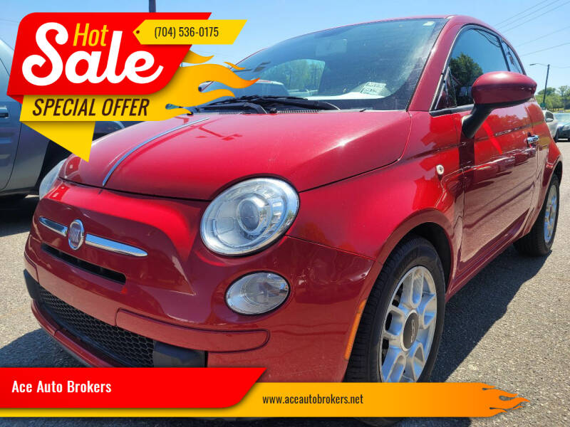 2012 FIAT 500 for sale at Ace Auto Brokers in Charlotte NC