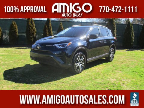 2018 Toyota RAV4 for sale at Amigo Auto Sales in Marietta GA