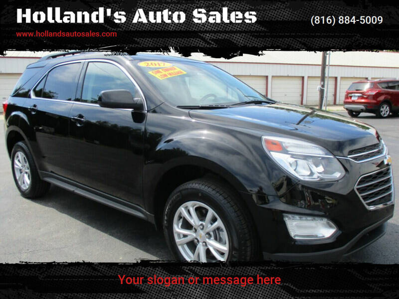 2017 Chevrolet Equinox for sale at Holland's Auto Sales in Harrisonville MO