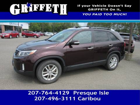2014 Kia Sorento for sale at Griffeth Mitsubishi - Pre-owned in Caribou ME