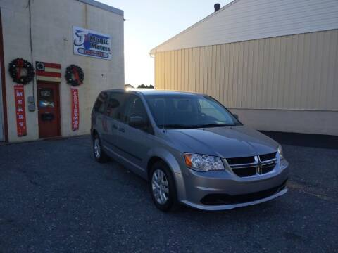 2015 Dodge Grand Caravan for sale at J'S MAGIC MOTORS in Lebanon PA