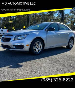 2016 Chevrolet Cruze Limited for sale at MD AUTOMOTIVE LLC in Slidell LA
