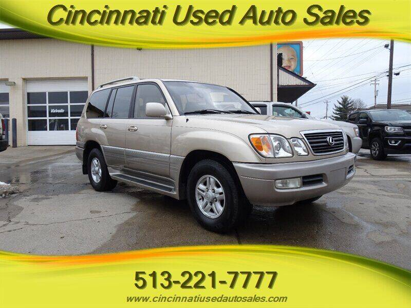 2000 Lexus LX 470 for sale at Cincinnati Used Auto Sales in Cincinnati OH