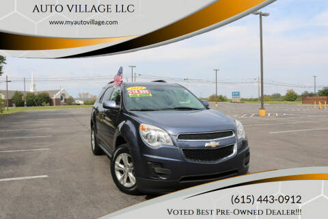 2014 Chevrolet Equinox for sale at AUTO VILLAGE LLC in Lebanon TN