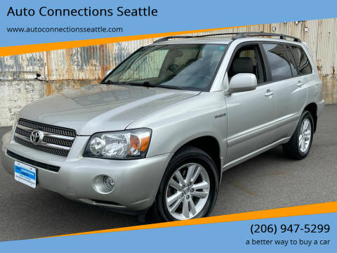2006 Toyota Highlander Hybrid for sale at Auto Connections Seattle in Seattle WA