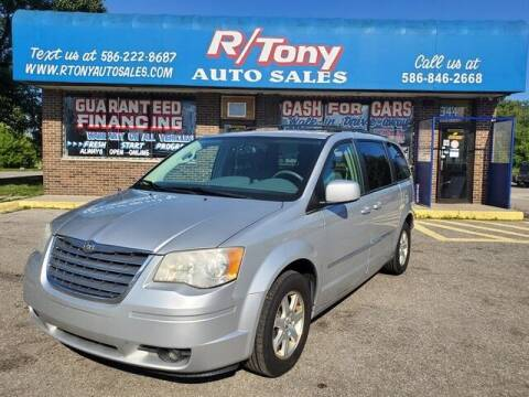 2009 Chrysler Town and Country for sale at R Tony Auto Sales in Clinton Township MI