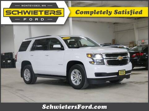 2017 Chevrolet Tahoe for sale at Schwieters Ford of Montevideo in Montevideo MN