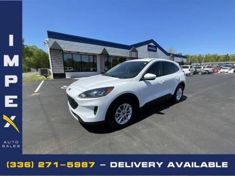 2020 Ford Escape for sale at Impex Auto Sales in Greensboro NC