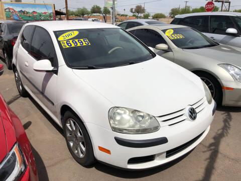 2007 Volkswagen Rabbit for sale at Valley Auto Center in Phoenix AZ