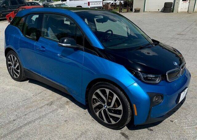 2017 BMW i3 for sale at Past & Present MotorCar in Waterbury Center VT