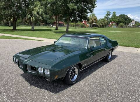1970 Pontiac GTO for sale at P J'S AUTO WORLD-CLASSICS in Clearwater FL