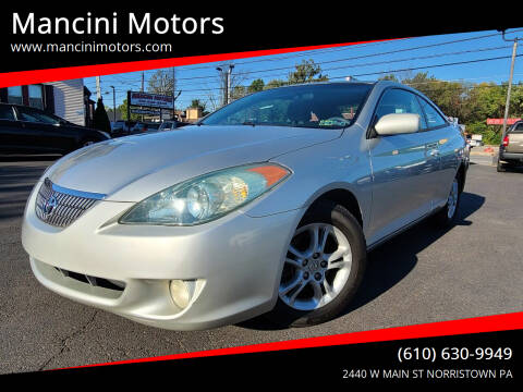 2004 Toyota Camry Solara for sale at Mancini Motors in Norristown PA