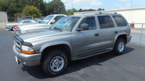 2000 Dodge Durango for sale at Classic Connections in Greenville NC