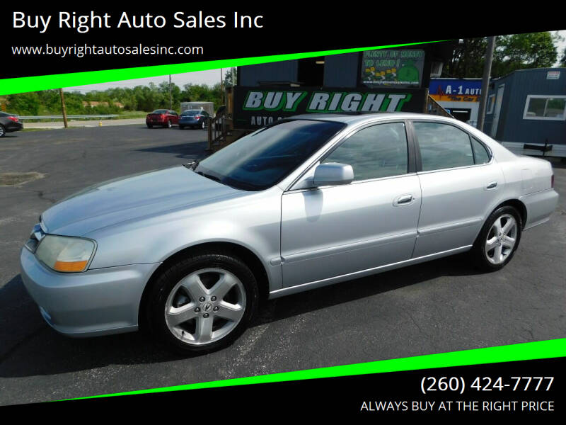 2003 Acura TL for sale at Buy Right Auto Sales Inc in Fort Wayne IN