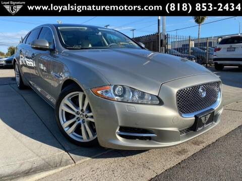 2011 Jaguar XJL for sale at Loyal Signature Motors Inc. in Van Nuys CA