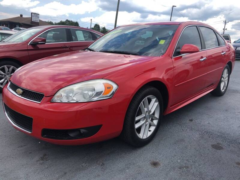 2013 Chevrolet Impala for sale at Penland Automotive Group in Taylors SC