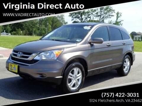 2010 Honda CR-V for sale at Virginia Direct Auto in Virginia Beach VA