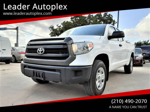 2017 Toyota Tundra for sale at Leader Autoplex in San Antonio TX