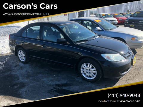 2004 Honda Civic for sale at Carson's Cars in Milwaukee WI