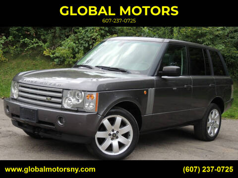 2005 Land Rover Range Rover for sale at GLOBAL MOTORS in Binghamton NY