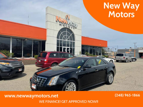 2012 Cadillac CTS for sale at New Way Motors in Ferndale MI