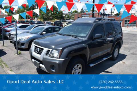2012 Nissan Xterra for sale at Good Deal Auto Sales LLC in Denver CO