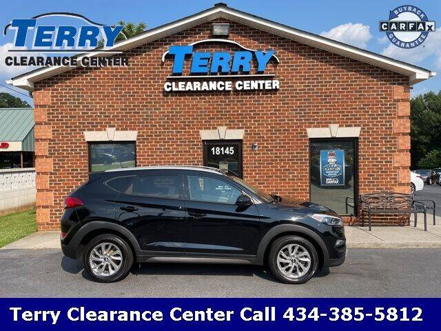 2016 Hyundai Tucson for sale at Terry Clearance Center in Lynchburg VA