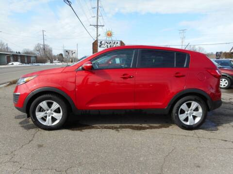 2013 Kia Sportage for sale at O K Used Cars in Sauk Rapids MN